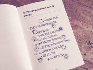 in 10 stappen leren vanuit talent